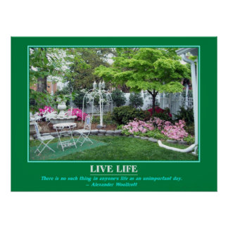 MotivationalPoster the Garden Poster