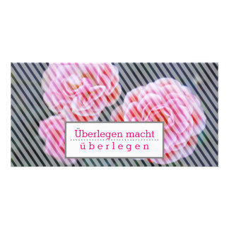 Motivations tarjeta con rosas