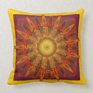 Motive cushion largely VIRACOCHA 08 Throw Pillow