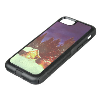 Motive for Christmas winters wonderland… OtterBox Commuter iPhone 7 Case