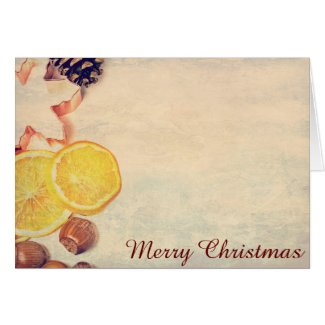 Motive for Christmas with fruits…