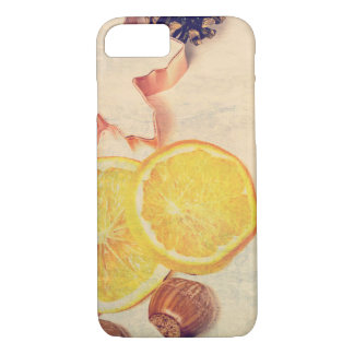 Motive for Christmas with fruits… iPhone 7 Case