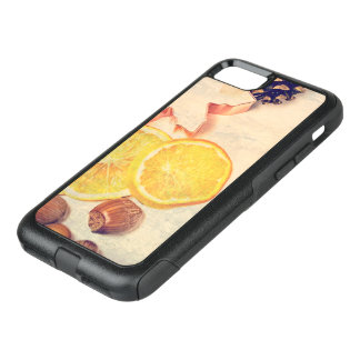 Motive for Christmas with fruits… OtterBox Commuter iPhone 7 Case