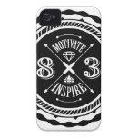 Motive y inspire - el caso de Iphone 4/4S (blanco) iPhone 4 Case-Mate Protector
