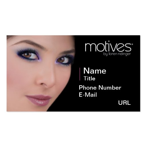Motives_003 Business Card Templates