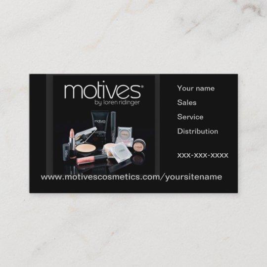 Motives cosmetics distributor business card zazzle motives cosmetics distributor business card colourmoves