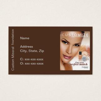 Motives Custom Blend Foundation Business Card