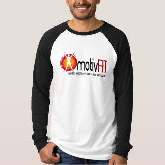 motivFIT Mens Basic Long Sleeve Raglan Shirt