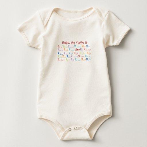Motivo conocido del Amy Body Para Bebé