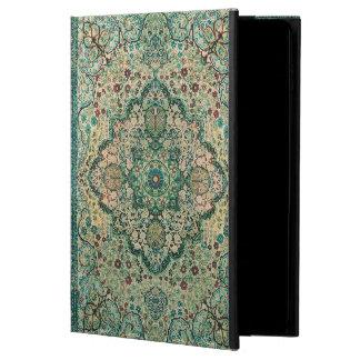 Motivo floral de la alfombra persa del vintage