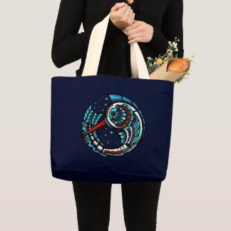 MotMot / Navy (jumbo tote bag)