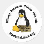 Motnana Linus User Group stickers