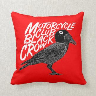 Moto addict throw pillow