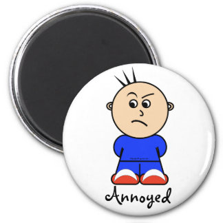 "Moto ""annoyed"" magnet"