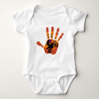 MOTO BAJA FIRES BABY BODYSUIT