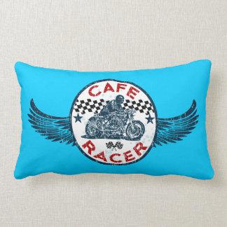 Moto Cafe racer Lumbar Pillow