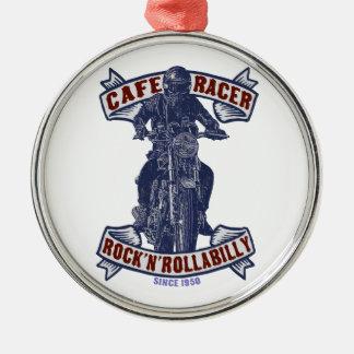 Moto Cafe racer Metal Ornament