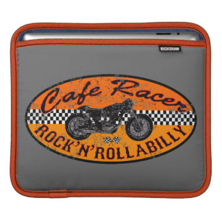 Moto Cafe racer Sleeve For iPads