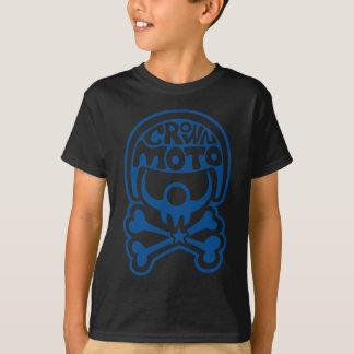 Moto Clown (crisp blue) T-Shirt