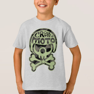 Moto Clown (green camo) T-Shirt
