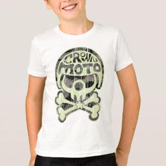 Moto Clown (vintage camo green) T-Shirt