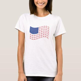 mOTO-cROSS-fLAG-wAVE T-Shirt