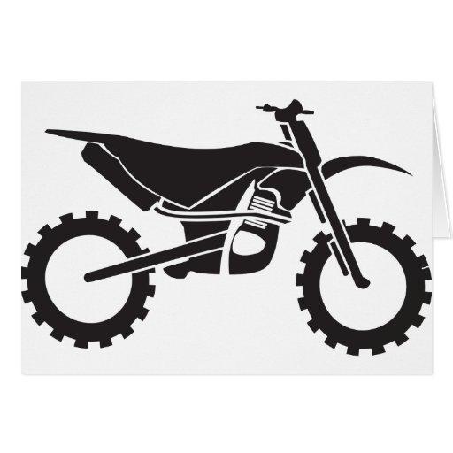 Moto Cross Greeting Card