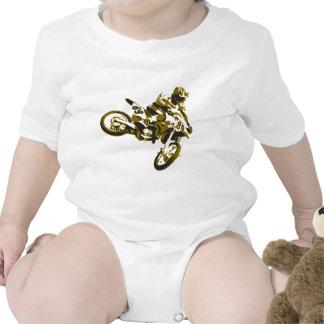 moto cross traje de bebé