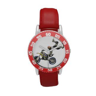 moto cross wrist watches