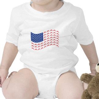 mOTO-cruz-bandera-onda Trajes De Bebé