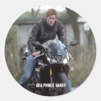 Moto de príncipe Harry de HRH Pegatinas
