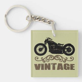 Moto del vintage llaveros