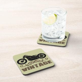 Moto del vintage posavasos de bebidas