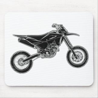 Moto estupendo Supermoto Tapetes De Ratón