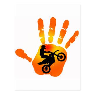 Moto Exhaust Take Postcard