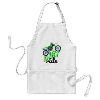 Moto extreme adult apron