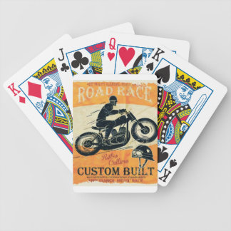 MOTO FANS BICYCLE PLAYING CARDS