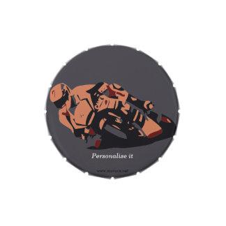 Moto Frascos De Caramelos