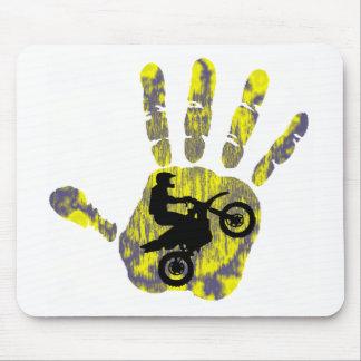 Moto Fresh Paint Mouse Pad