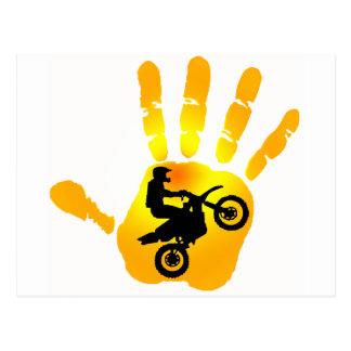 MOTO HAND SOL POSTCARD