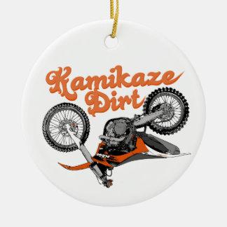 Moto Kamikaze Ceramic Ornament