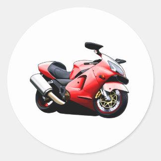 Moto Koolart Etiqueta Redonda