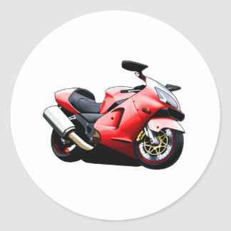 Moto Koolart Round Sticker