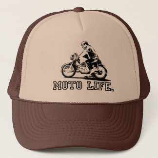 Moto Life | Trucker Hat for motorcycle lovers