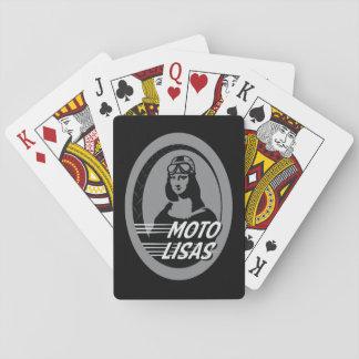 Moto Lisas Playing Cards