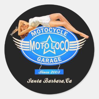 Moto Loco Sticker