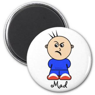 "Moto ""mad"" magnet"
