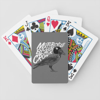 Moto madness bicycle playing cards