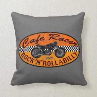 Moto madness throw pillow