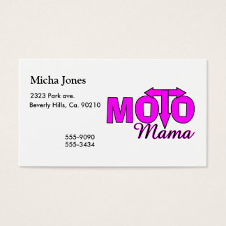 Moto Mama Business Card